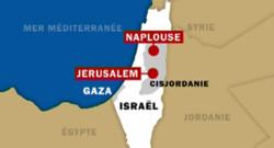 TF1/LCI - Carte d'Israël