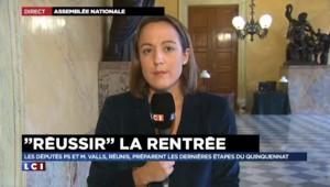 """Bruno Le Roux dit son agacement des frondeurs qui """"remettent tout en cause"""""""