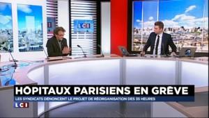 """Hôpitaux parisiens en grève : Hirsch """"ne connaît pas suffisamment nos métiers"""""""