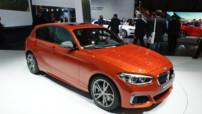 La seconde génération de BMW Série 1 dans sa version restylée présentée au Salon de Genève en mars 2015
