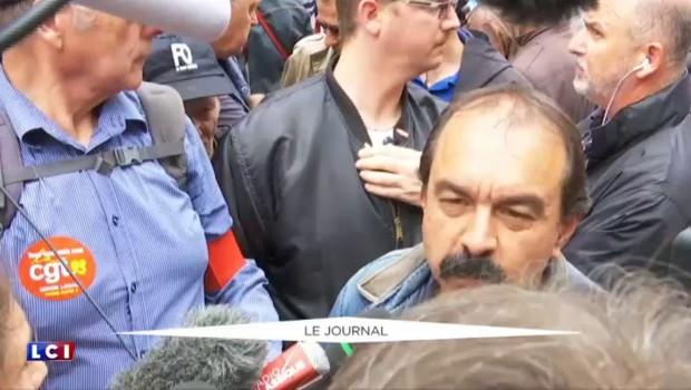 """Manifestation contre la loi Travail: """"C'est au gouvernement d'apporter des réponses"""" selon P. Martinez"""