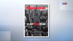 Newsweek : une dernière Une et puis s'en va...
