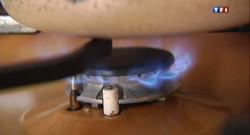 Une casserole sur le feu.