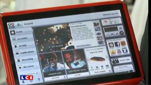 Une tablette tactile