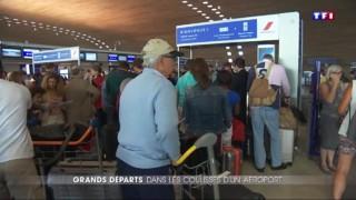 Chassé-croisé de l'été : dans les coulisses de l'aéroport de Roissy