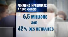 """Le 20 heures du 16 septembre 2014 : Petites retraites : Valls annonce une """"prime exceptionnelle"""", plus de 6 millions de concern�- 752.89"""