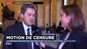 """Le recours à l'article 49.3 est """"une mascarade"""" pour Georges Fenech"""