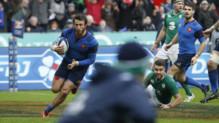 Maxime Médard a donné la victoire aux Bleus, avec un essai à dix minutes de la fin du match.