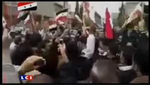 Syrie : une manifestation en images