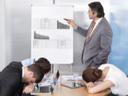 Un cadre sur trois s'endort en réunion