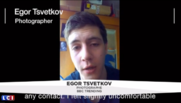 Capture d'écran LCI, Igor Tsvetkov