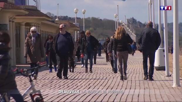 Deauville fait peau neuve pour la saison estivale