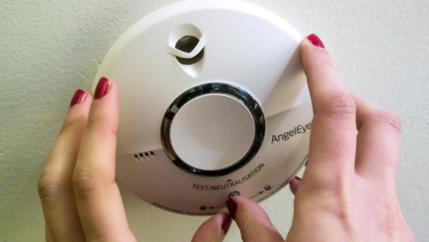 détecteur de fumée installation maison appartement