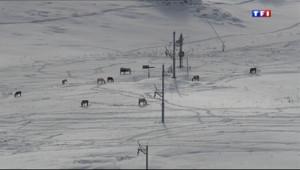 Le 20 heures du 11 octobre 2013 : La neige d� de retour dans les Alpes - 1406.4763619995117