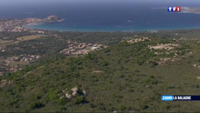 Le 20 heures du 30 août 2014 : La Corse vue du ciel - 1675.582