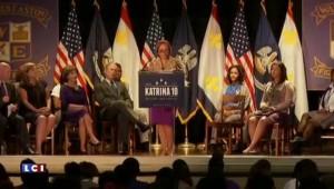 Nouvelle-Orléans : George W. Bush en visite pour les dix ans de Katrina