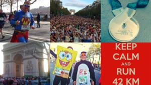 Vos photos du marathon de Paris