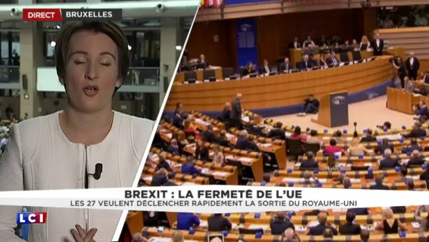 """Brexit: """"Pas question d'un divorce à la carte"""" pour Angela Merkel"""