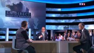 """Hollande sur TF1 : """"Nous on veut manger !"""""""