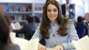 Kate Middleton en janvier 2015 à Londres