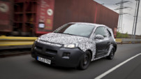 Opel Adam spyshot officiel 2012