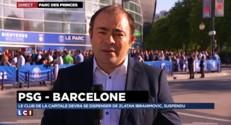 """PSG - Barcelone : une """"rencontre délicate"""" pour les Parisiens privés d'Ibrahimovic"""