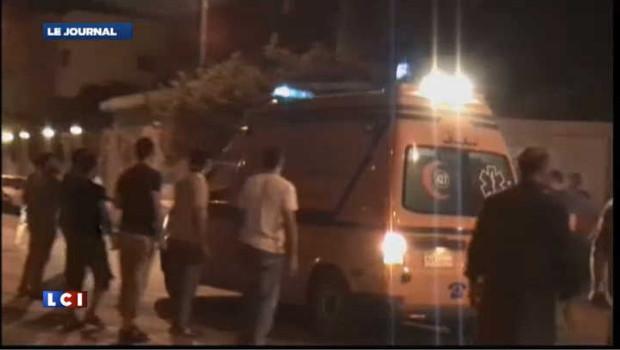 Frappe de l'armée égyptienne dans le Sinaï
