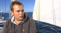 Le 20 heures du 16 octobre 2014 : Nils Boyer, skipper, 20 ans et pr��%u2019�ncer sur la Route du Rhum - 1512.1334208984372