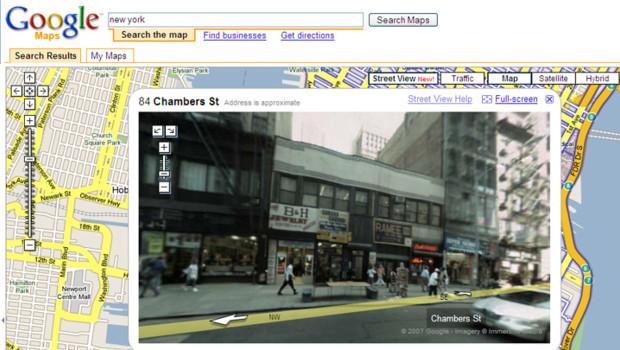 TF1-LCI google maps