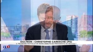 """Valérie Pécresse : """"Les choix qu'elle fait vont dans le bon sens"""" concède le socialiste Christophe Caresche"""