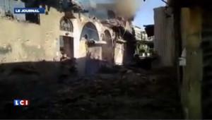 Attentat de Damas : les images