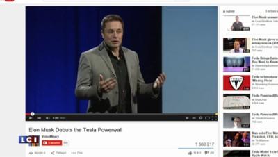 Batterie rechargeable : Tesla se lance sur le marché domestique