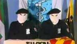 espagne pays basque clandestins de l'ETA conference de presse fevrier 2003