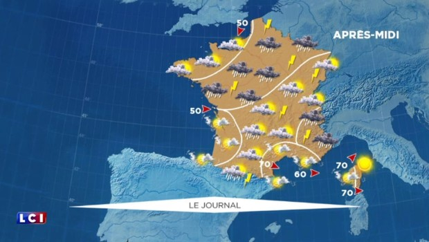 Météo du dimanche 29 mai : encore 7 départements en vigilance orange