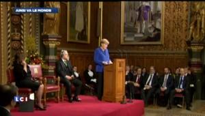Royaume-Uni : tapis rouge pour Angela Merkel