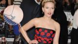 Scarlett Johansson : son nouveau tatouage sur le tapis rouge d'Avengers