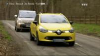 Essai Automoto FIAT 500L Renault Clio Estate 2013