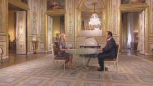 François Hollande interrogé par Claire Chazal (septembre 2013)