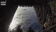 Hawaï : 42 marins sauvés de leur navire en feu