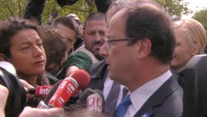 """Hollande : """"Nous devions être ici, unis"""""""