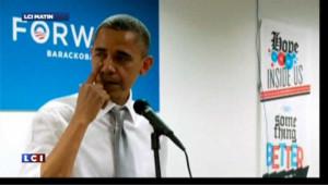 Obama en pleurs pour remercier son équipe