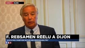 Rebsamen, réélu maire de Dijon, est fier de son bilan au ministère du Travail