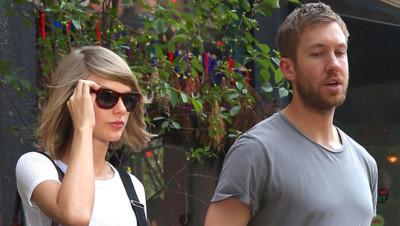 Taylor Swift Calvin Harris NY 2015