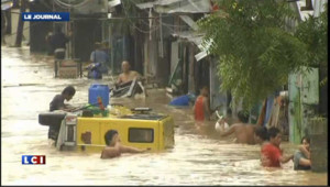 VIDEO : Manille noyée par la mousson