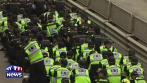 Accident du ferry sud-coréen : 6 000 policiers à la recherche du propriétaire