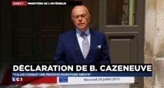 """Cazeneuve : """"Calais connaît une pression migratoire inédite"""""""