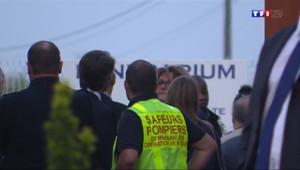 Le 13 heures du 23 juillet 2014 : Collision entre un minibus et un poids-lourd : les familles sont arriv� �avau - 0