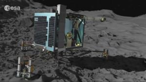 Le 20 heures du 13 novembre 2014 : Robot Philae pos�ur la com� Tchouri : et maintenant ? - 267.073