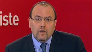 Julien Dray, porte-parole du PS