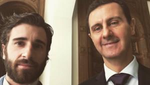 Julien Rochedy et Bachar al-Assad